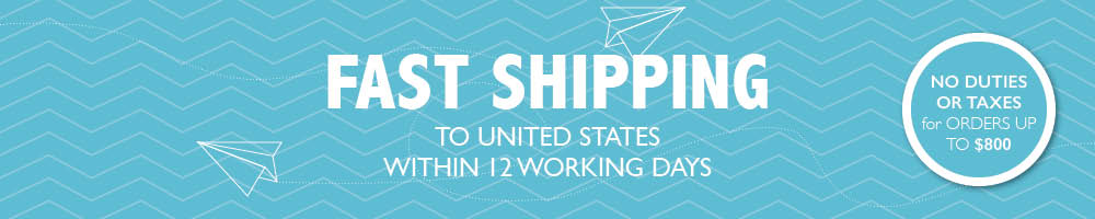 Fast Shipping within 12 working days