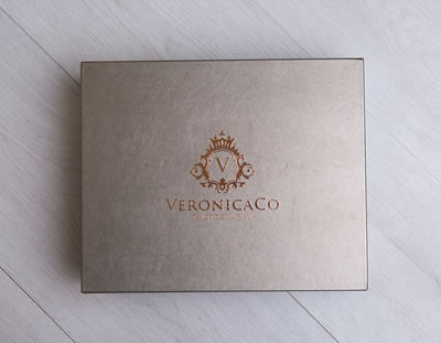 Luxury metallic folio boxes for photographers