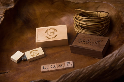 Wood Collection Mini Wood USB Pack