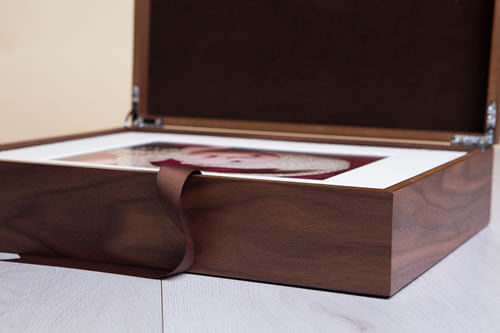 Premium Wood 11x14 Folio Box