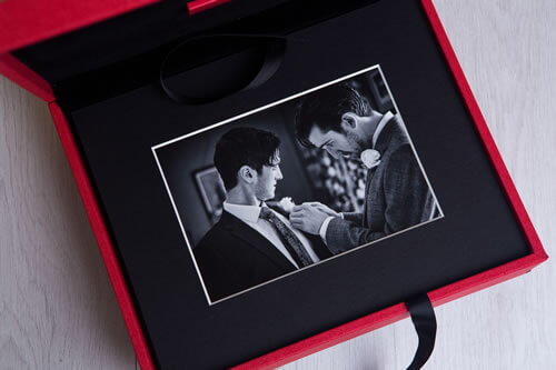 Premium Colors 8x10 Folio Box with USB