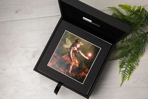 Premium Colors 8x8 XL Folio Box with USB