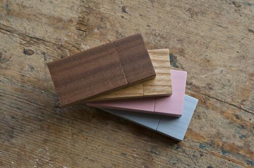 Premium Wooden USB Colors