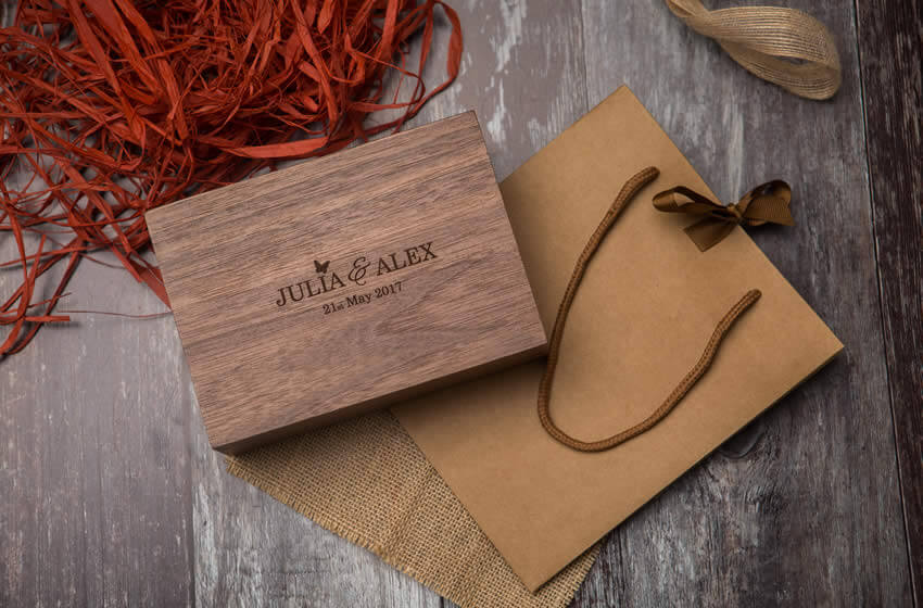 Premium Wood 4x6 Print Boxes For Photographers